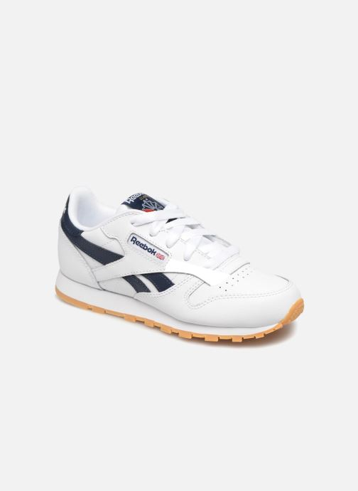 Baskets Reebok Classic Leather C Blanc vue détail/paire