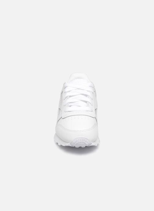 Baskets Reebok Classic Leather C Blanc vue portées chaussures