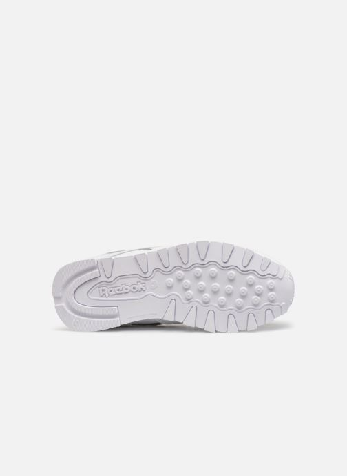 Baskets Reebok Classic Leather C Blanc vue haut