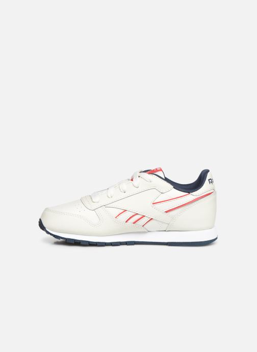Sneakers Reebok Classic Leather C Bianco immagine frontale