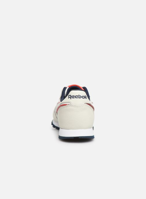 Deportivas Reebok Classic Leather C Blanco vista lateral derecha