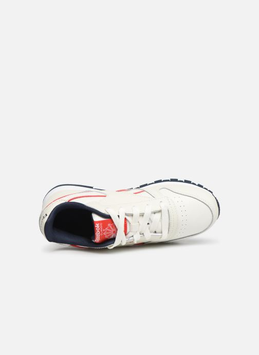 Deportivas Reebok Classic Leather C Blanco vista lateral izquierda