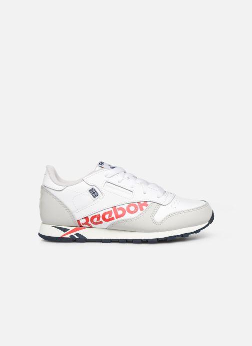 Baskets Reebok Classic Leather C Blanc vue derrière