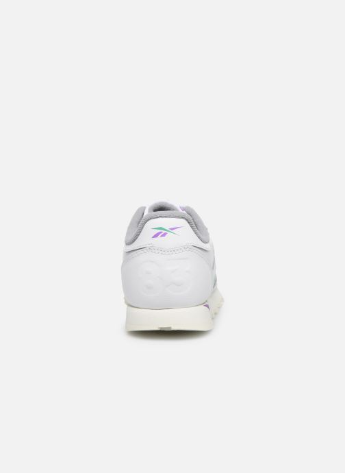 Trainers Reebok Classic Leather C White view from the right
