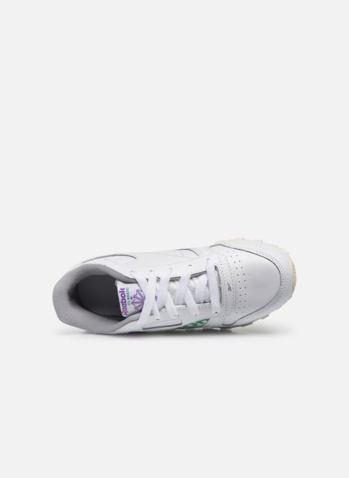 Trainers Reebok Classic Leather C White view from the left