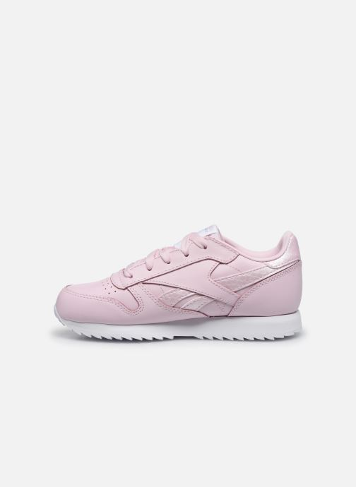 Trainers Reebok Classic Leather C Pink front view