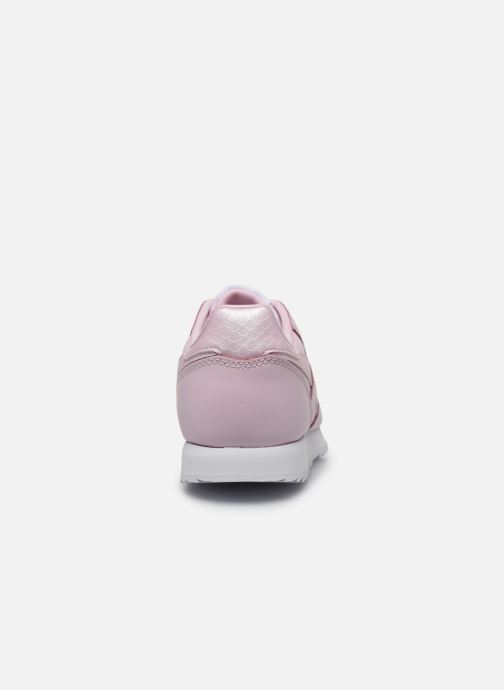 Trainers Reebok Classic Leather C Pink view from the right