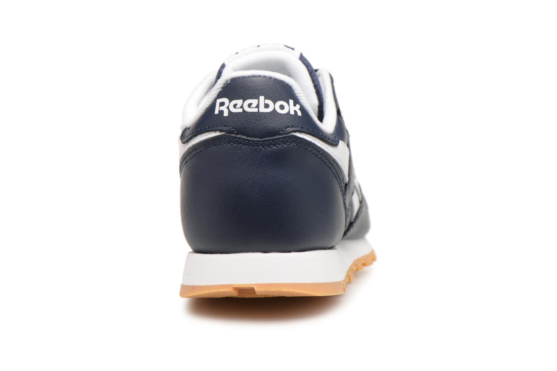 Baskets Reebok Classic Leather C Bleu vue droite
