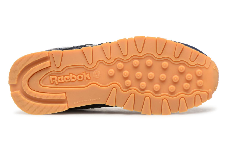 Baskets Reebok Classic Leather C Bleu vue haut