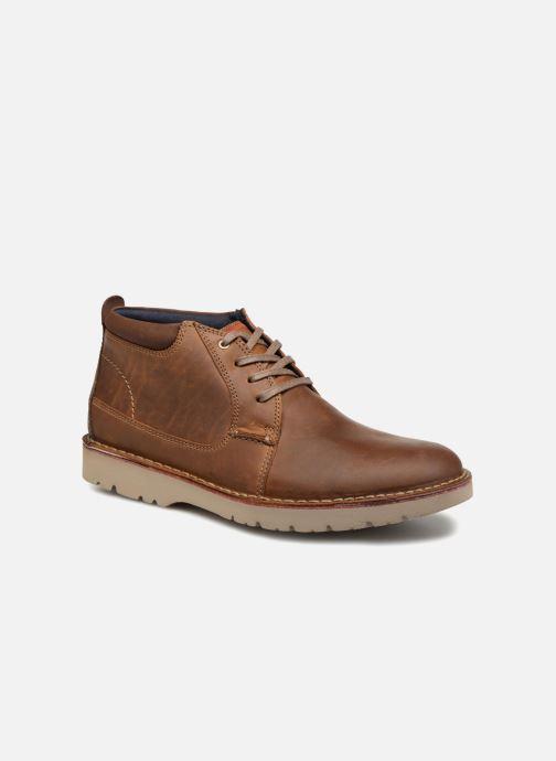 Bottines et boots Clarks Vargo Mid Marron vue détail/paire