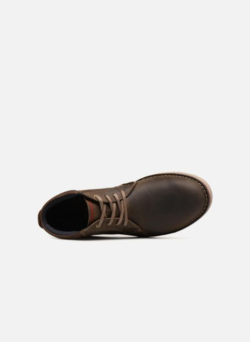 Bottines et boots Clarks Vargo Mid Marron vue gauche