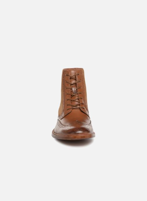 Ankle boots Clarks James Hi Brown model view