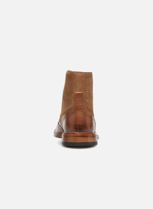 Bottines et boots Clarks James Hi Marron vue droite
