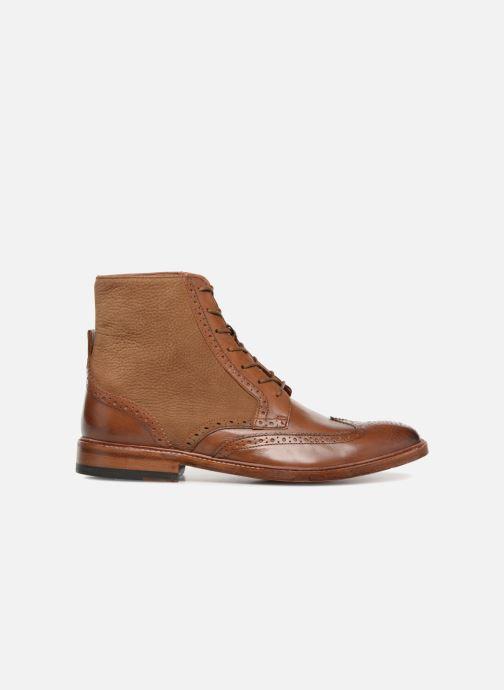 Bottines et boots Clarks James Hi Marron vue derrière