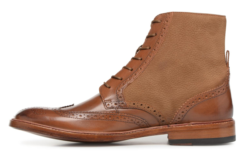 Bottines et boots Clarks James Hi Marron vue face