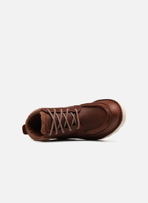 Stiefeletten & Boots Clarks Korik Rise GTX braun ansicht von links