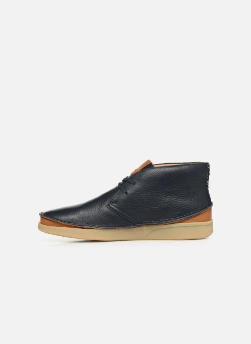 Bottines et boots Clarks Oakland Rise Bleu vue face
