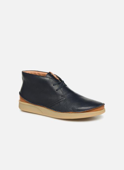 Bottines et boots Clarks Oakland Rise Bleu vue détail/paire
