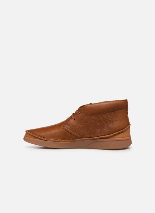 Bottines et boots Clarks Oakland Rise Marron vue face