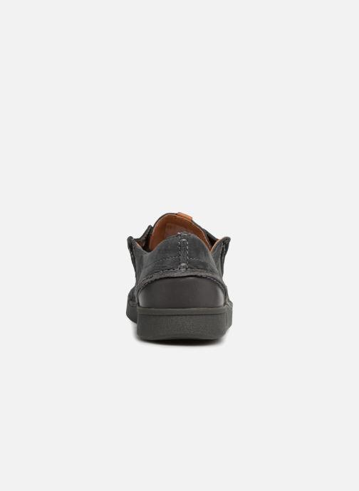 Scarpe con lacci Clarks Oakland Seam Grigio immagine destra
