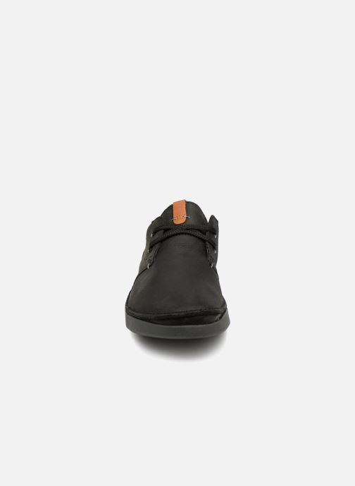 Veterschoenen Clarks Oakland Lace Zwart model