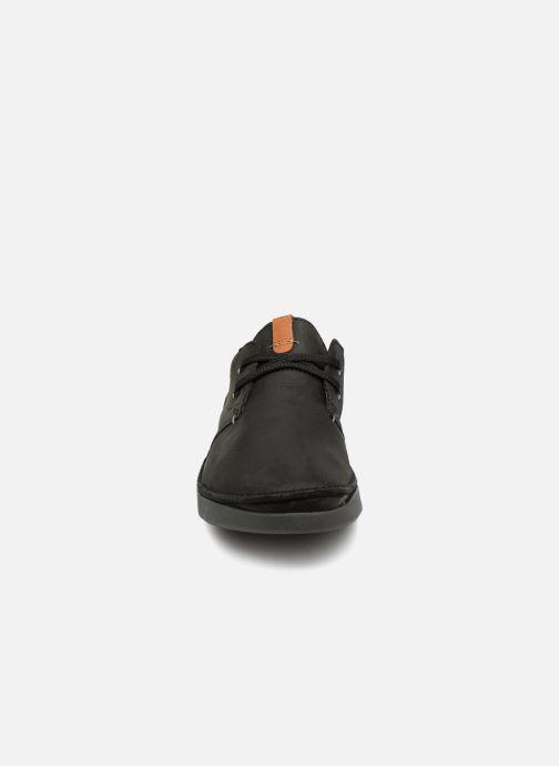 Chaussures à lacets Clarks Oakland Lace Noir vue portées chaussures