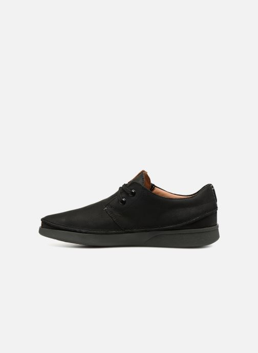 Chaussures à lacets Clarks Oakland Lace Noir vue face