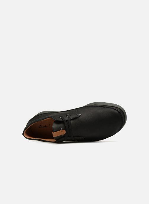 Chaussures à lacets Clarks Oakland Lace Noir vue gauche