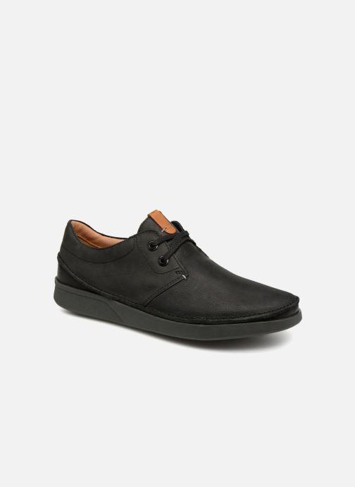 Chaussures à lacets Clarks Oakland Lace Noir vue détail/paire