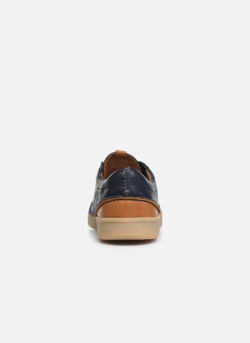 Chaussures à lacets Clarks Oakland Lace Bleu vue droite