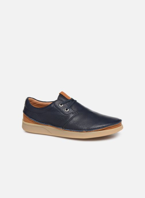 Chaussures à lacets Clarks Oakland Lace Bleu vue détail/paire