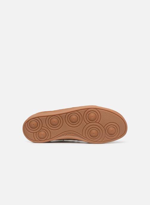 Zapatos con cordones Clarks Oakland Lace Marrón vista de arriba