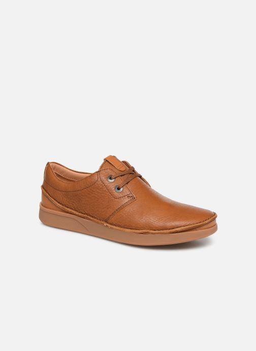 Chaussures à lacets Clarks Oakland Lace Marron vue détail/paire