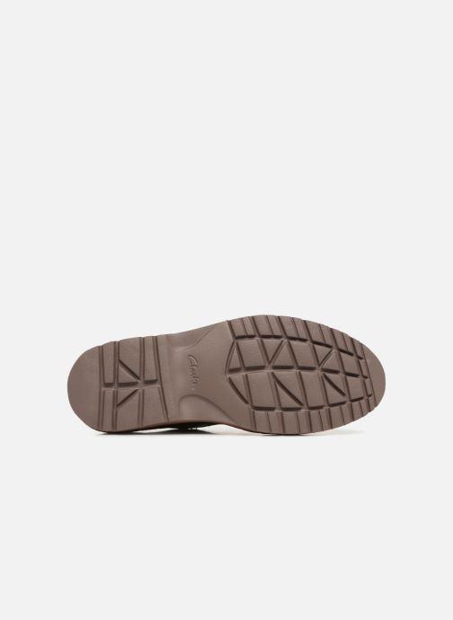 Zapatos con cordones Clarks Vargo Plain Marrón vista de arriba
