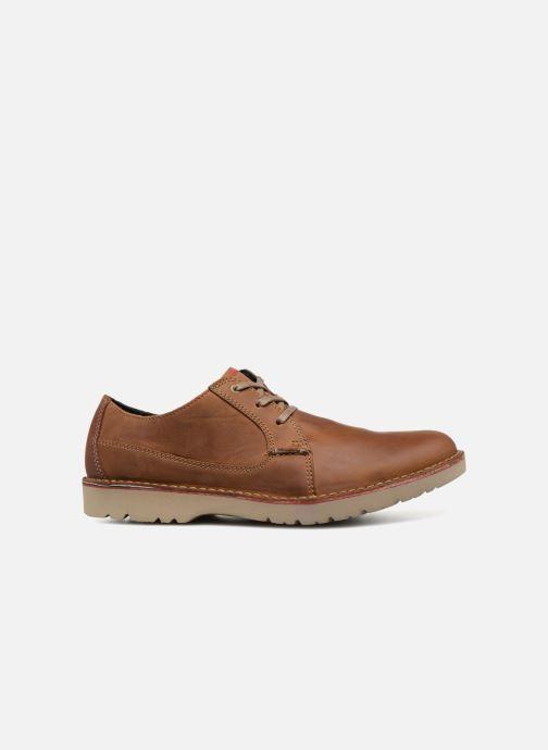 Zapatos con cordones Clarks Vargo Plain Multicolor vistra trasera