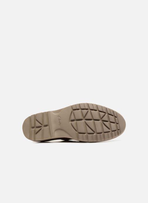 Chaussures à lacets Clarks Vargo Plain Marron vue haut