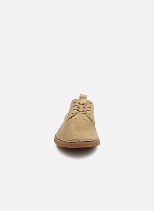 Sneakers Clarks Hale Lace Beige se skoene på
