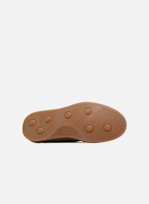 Sneaker Clarks Hale Lace beige ansicht von oben