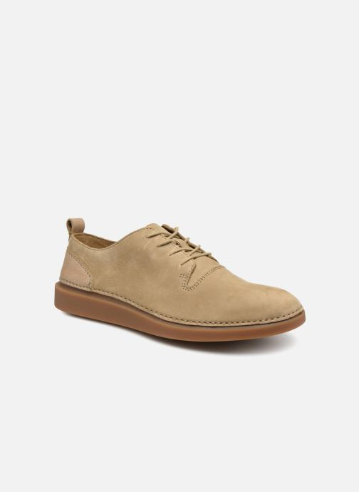 Sneakers Clarks Hale Lace Beige detail