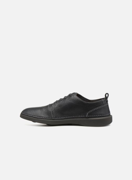 Trainers Clarks Hale Lace Grey front view