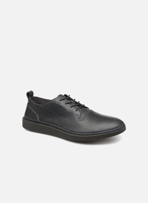 Trainers Clarks Hale Lace Grey detailed view/ Pair view