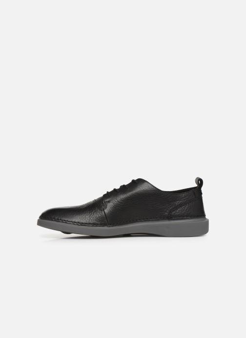 Sneakers Clarks Hale Lace Zwart voorkant