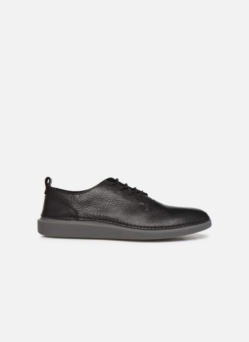 Sneakers Clarks Hale Lace Zwart achterkant