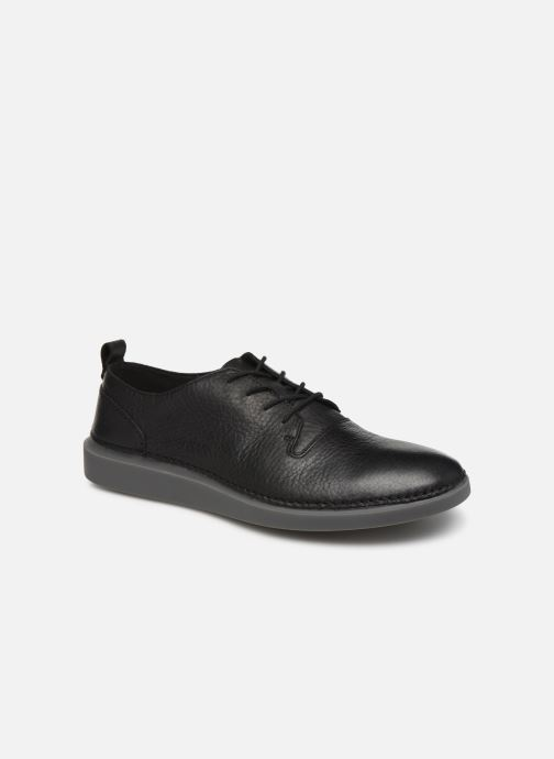 Trainers Clarks Hale Lace Black detailed view/ Pair view