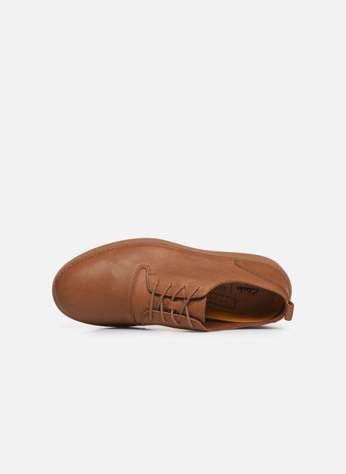 Sneakers Clarks Hale Lace Bruin links