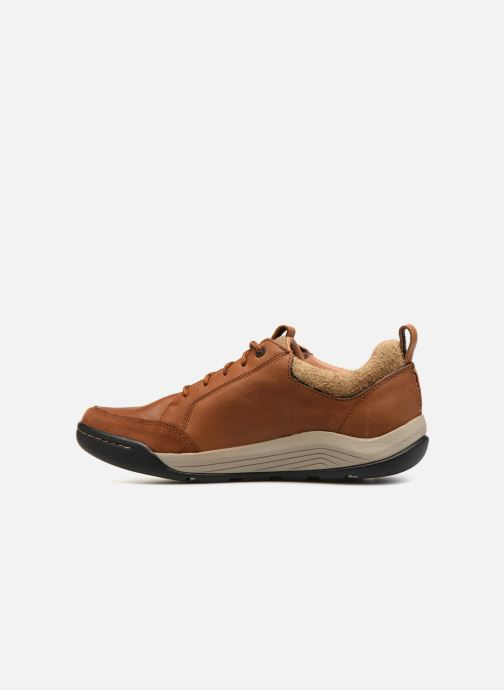 Baskets Clarks AshcombeBayGTX Marron vue face