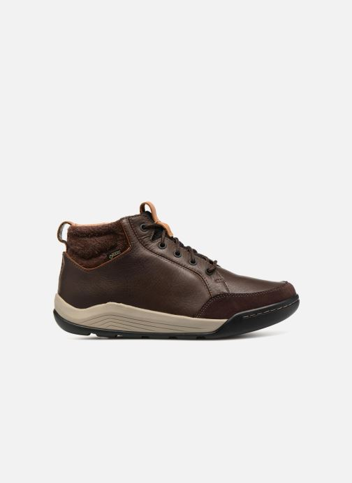 Lace-up shoes Clarks AshcombeMidGTX Brown back view