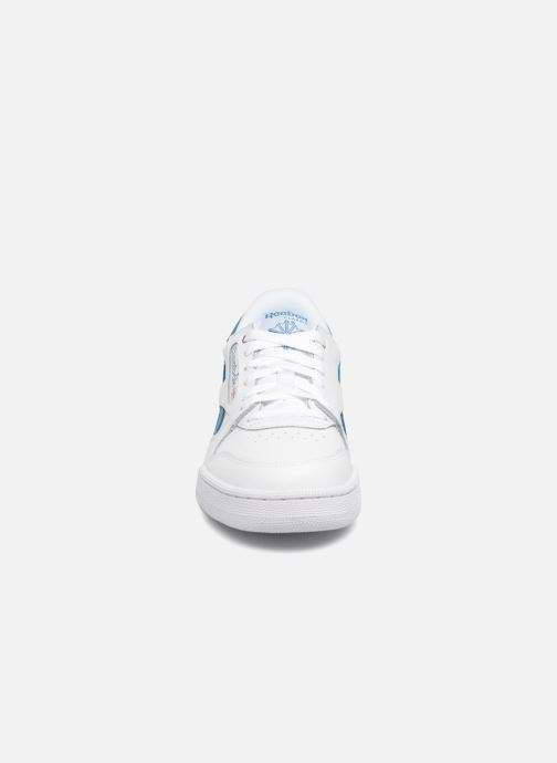 Baskets Reebok Phase 1 Pro J Blanc vue portées chaussures