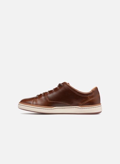 Baskets Clarks Unstructured Norsen Lace Marron vue face