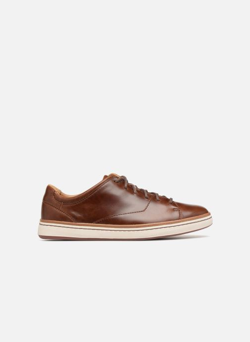 Baskets Clarks Unstructured Norsen Lace Marron vue derrière